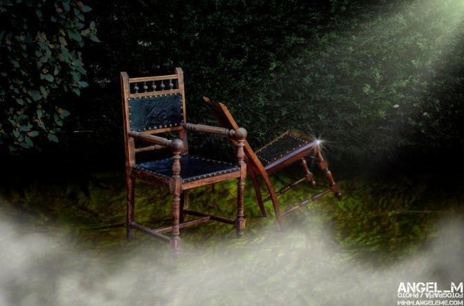 ¡una silla!