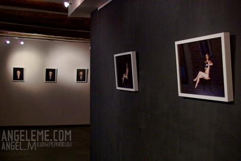 """Exposición """"Radiografías"""" de Angel_m, en la galería """"La libreta de los dibujos"""". Zaragoza, 2010"""